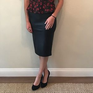 Black snake skin BB Dakota small skirt